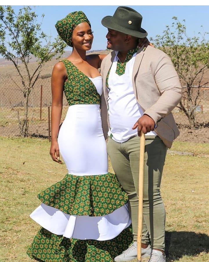 Hot and Stylish South African Shweshwe Dresses 2020