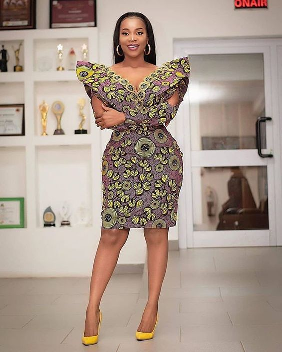 Stunning Ankara Dresses Styles 2020 For Black Women's