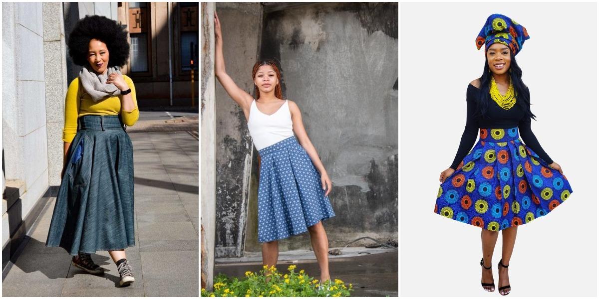 Shweshwe Traditional Skirts 2021