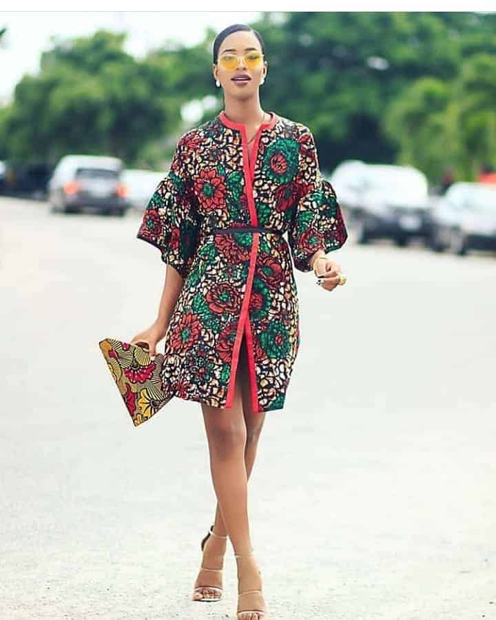 Ankara Short Gown Styles Styles 2020 FOR Black Women's