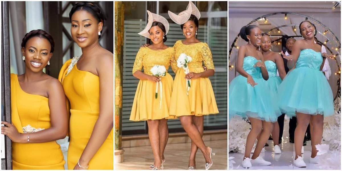 African Bridesmaid Dresses For a Modern Women's