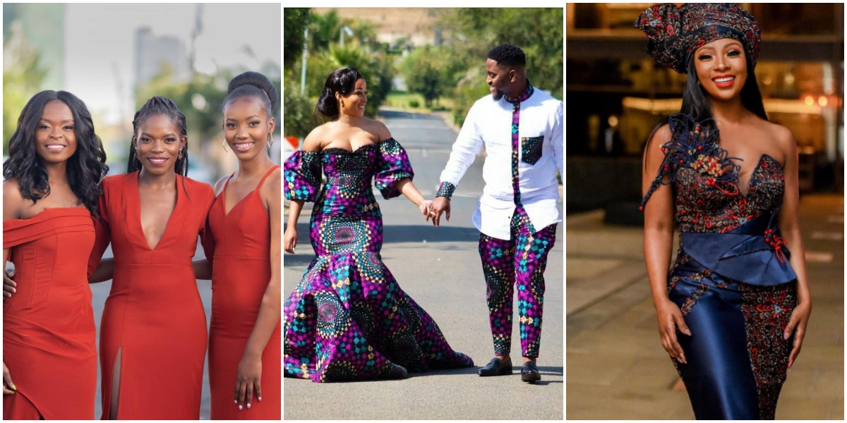 Bridesmaids and Wedding Guests – African Wedding Outfits