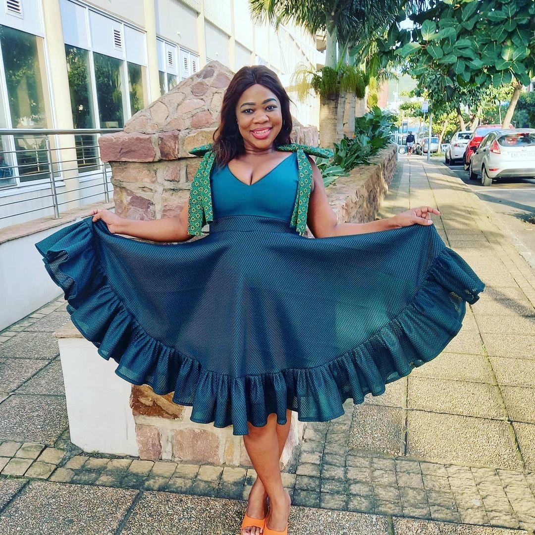 Shweshwe Dresses For Makoti 2020