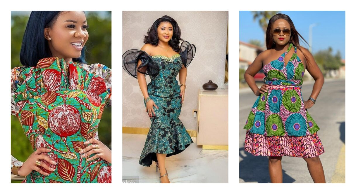 Latest African Print Prom Dresses For Women's