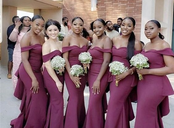 Excited african bridesmaids dresses 2021