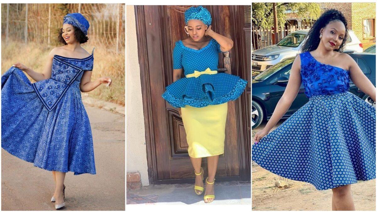 Hot Shweshwe attire 2021 For Black Women's