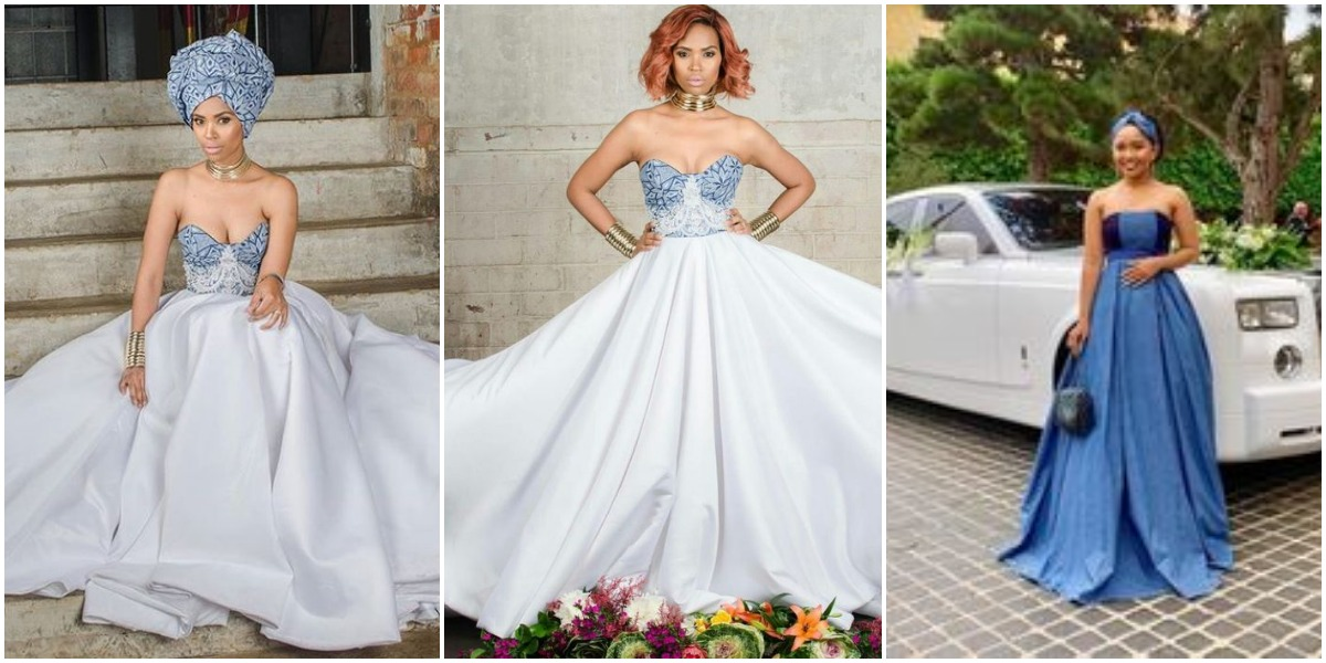 Latest tswana dresses