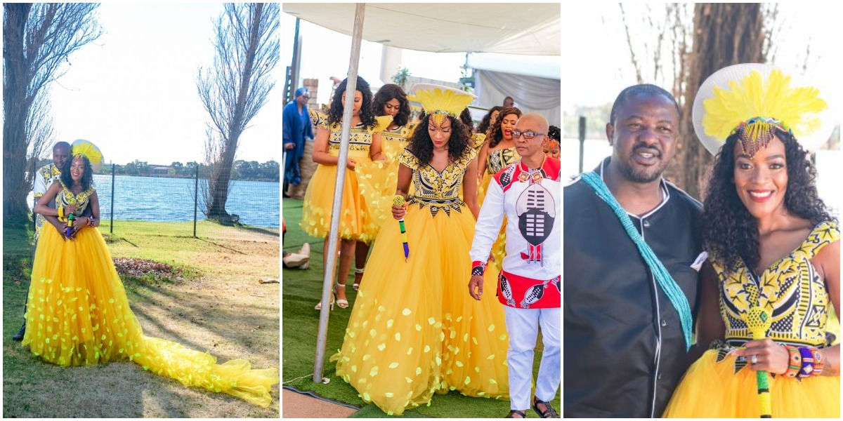 Swati Wedding Dresses For African Women's
