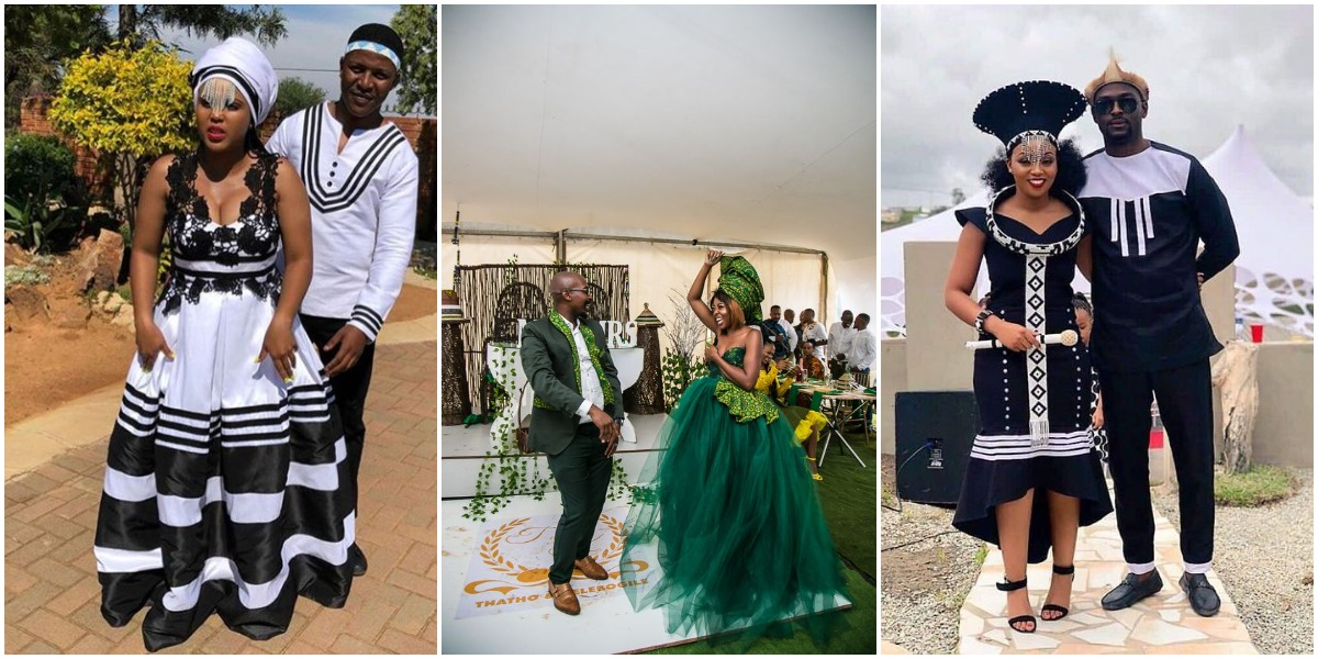 zulu traditional wedding dresses 2021 For African Women