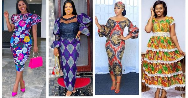 Best Ankara Dresses For Church Outfit 2021