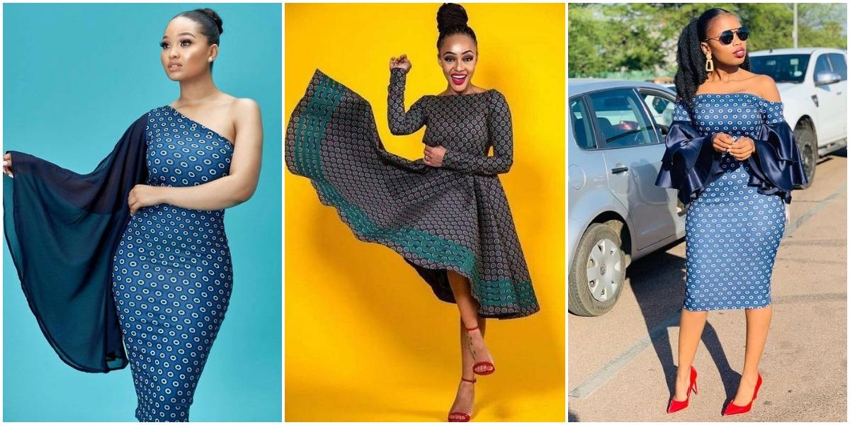 Latest Designs Shweshwe Skirts