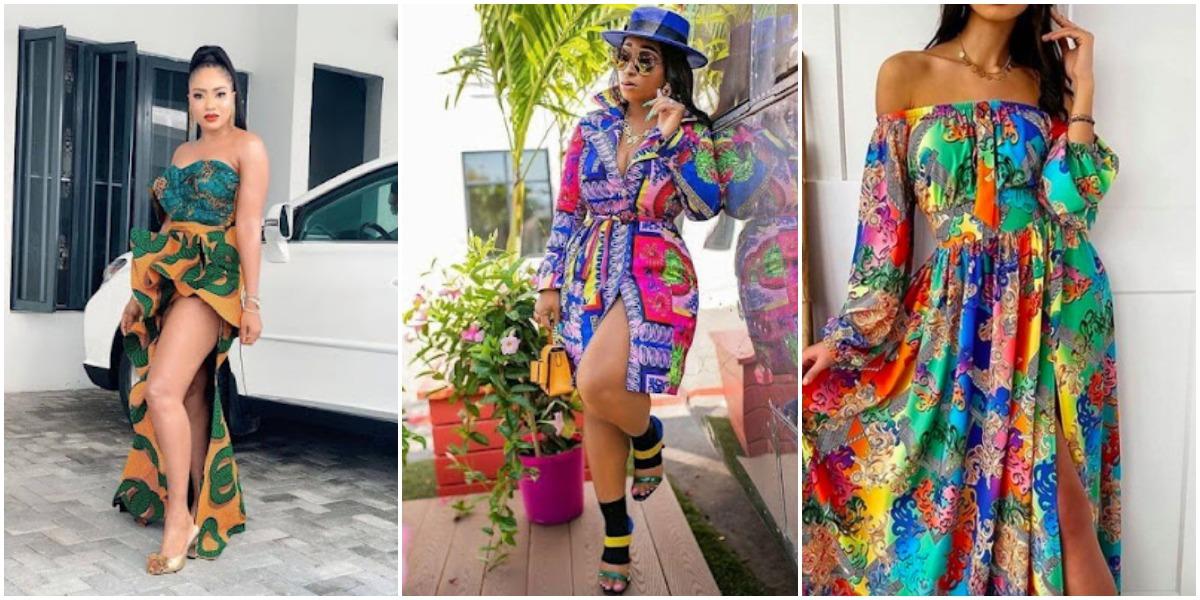 Ankara Hot Styles Attires For Fresh African Women 2021