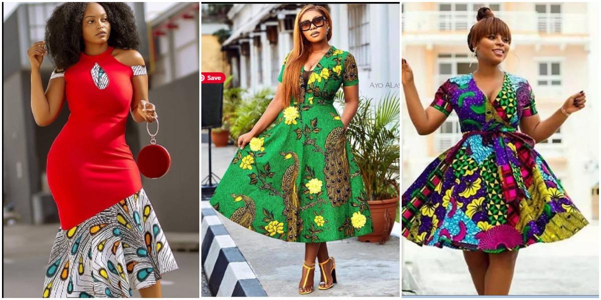 African Print Prom Dresses