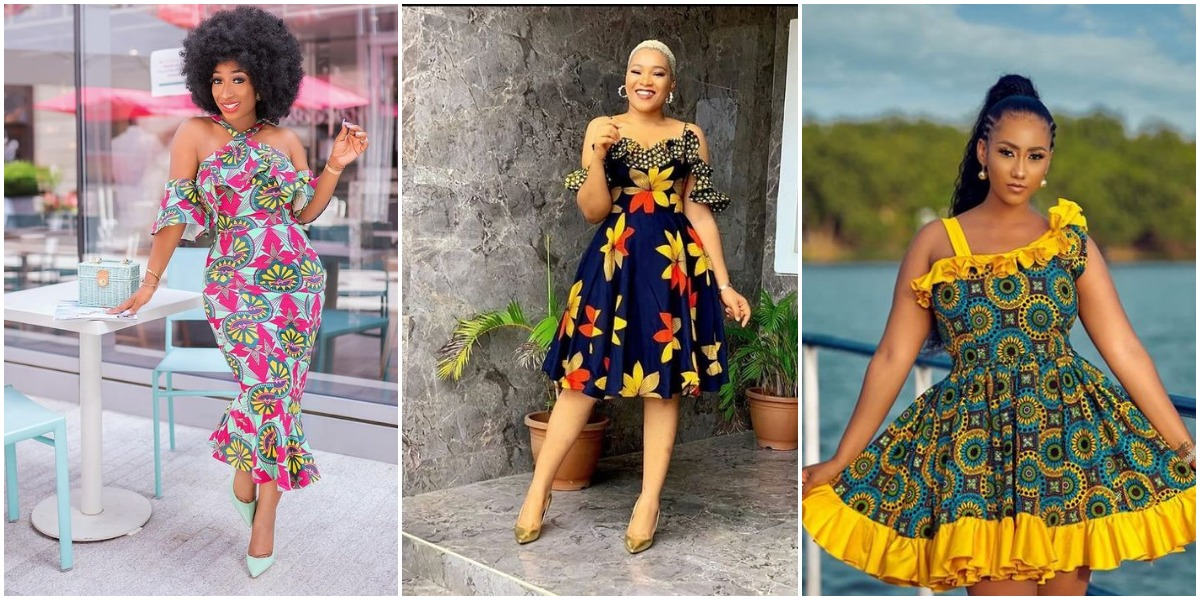 Latest Ankara Gown Styles 2021 For African Women's