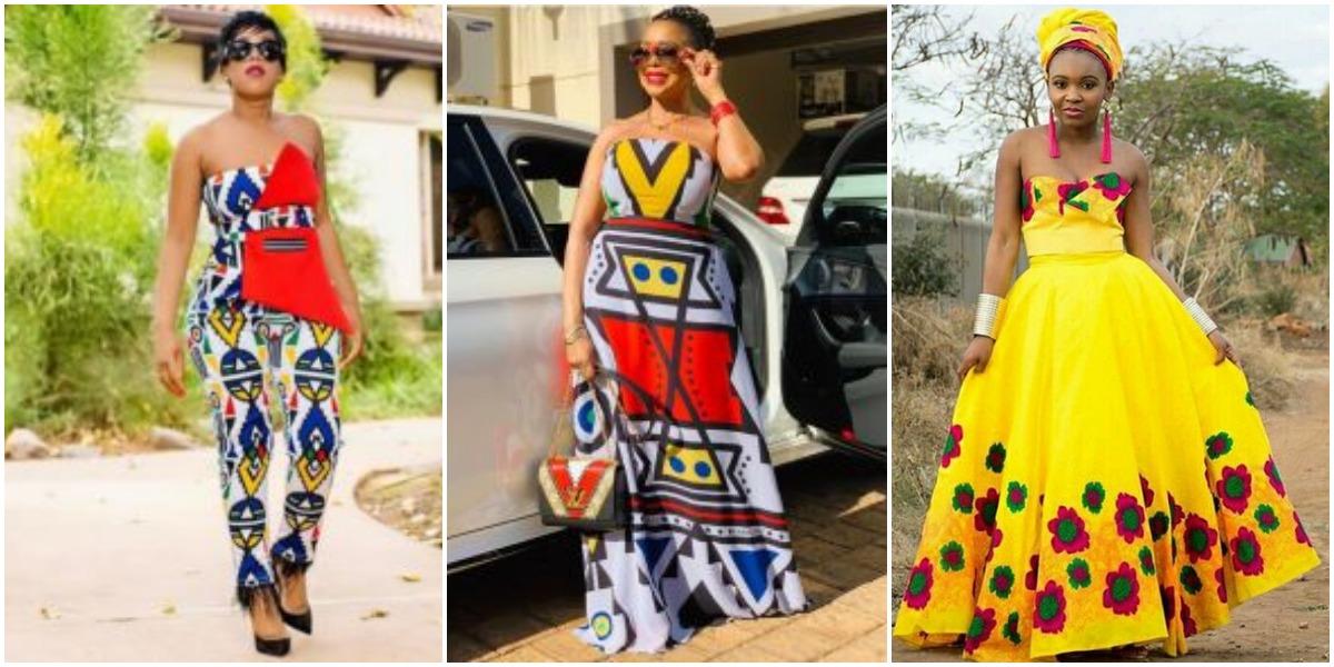 Ndebele Traditional Wedding Dresses