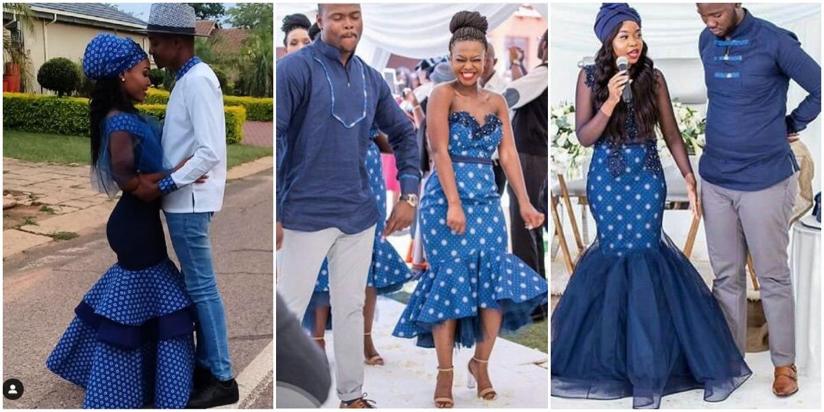 sotho traditional wedding dresses