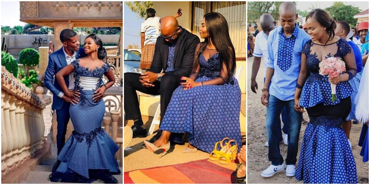 Shweshwe Wedding Traditional Dresses