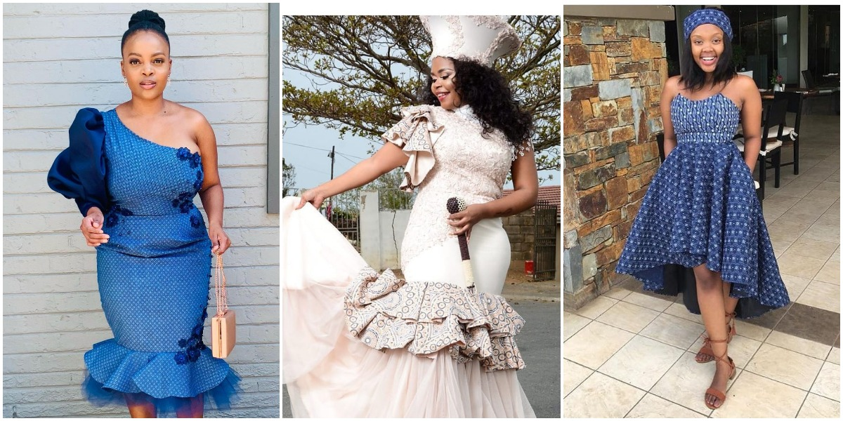 Shweshwe Traditional Dresses 2021 For African Women's